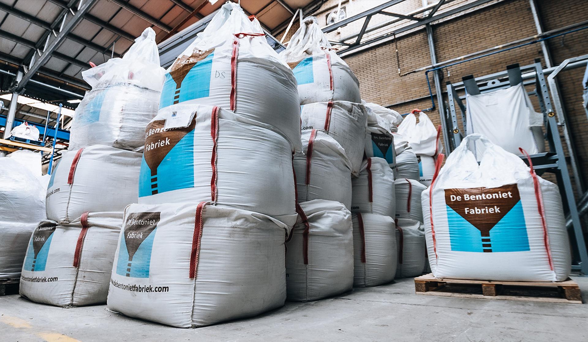 Bentoniet grout product bio polymeer